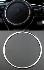 Stainless Steel Steering Wheel Ring Cover Trim For Kia Sportage 2016 2017