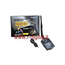 ANTENNA ULTRA POTENTE RICEVITORE WIFI USB WIRELESS 2000mW AMPLIFICATORE REALTEK