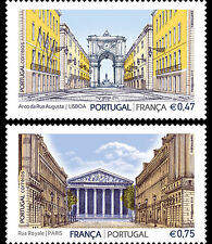 Portugal - Postfris/MNH - Complete set Joint-Issue Portugal-France 2016