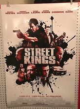 Original Movie Poster Street Kings Double Sided 27x40