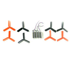 8pcs 3-Blade Propeller 8.5x20mm 0820 Coreless Motor for DIY Micro FPV Quadcopter