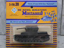 Roco Minitanks (NEW)  WWII German Eastwind 37mm AAA Gun  Lot #176X