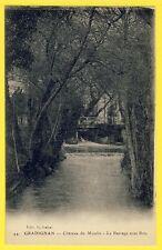 cpa 33 - GRADIGNAN (Gironde) CHÂTEAU du MOULIN Le BARRAGE Sous Bois