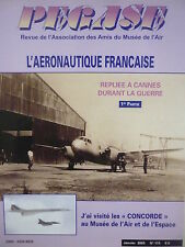 1/2005 PEGASE 115 INDUSTRIE AERONAUTIQUE CANNES GUERRE WWII SO 161 SOUFFLERIE