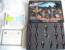 "2005 Gi Joe Convention ""héros en action"" ""général Mayhem mars envahit"" box set"