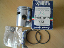 PISTON  POLINI 41,4mm axe de **12mm** pour kit Polini PIAGGIO CIAO **OLD STOCK**