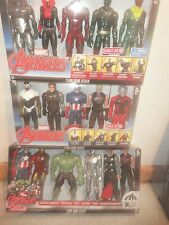 MARVEL EXCLUSIVE AVENGER SETS, 16 FIGURES, 10 INCHES TALL, UNOPENED