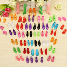 40Pairs Diffirent High Heel Shoes For 290mm Barbie Doll Toy Accessories
