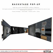 Modern Backstage Pop-Up Diorama, NOT WWE RAW, Mattel, Elite, Ring, Figure