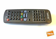GENUINE ORIGINAL SHARP G1065SA VCR REMOTE CONTROL