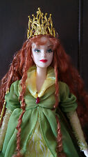 BARBIE DOLL 'FAERIE QUEEN LEGENDS of IRELAND' NO BOX - DISPLAYED ONLY - PRETTY