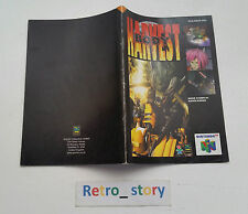 Nintendo 64 N64 Body Harvest Notice / Instruction Manual