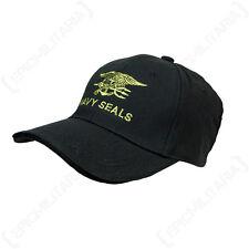 Nero Navy SEALS CAPPELLINO-Us Militare Americana abbia raggiunto l'apice Cappello Da Sole Unisex