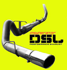 "New 4"" Turbo Back Stainless Exhaust 94-02 Dodge Ram 2500 3500 5.9L Diesel w/ Tip"