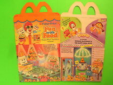 1989 McDonalds HM Box - Fun With Food - In Concert