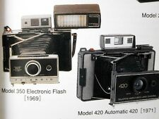 FREE SHIPPING!Japan Vintage Polaroid Instant Cameras Book SX-70 film Accessories