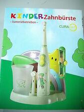 Elektrische Kinder Zahnbürste mit Station – batteriebetrieben –