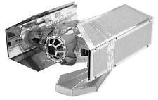 Star Wars Darth Vaders Tie Fighter De Metal De La Tierra - 3d Corte Láser Modelo detallado Kit