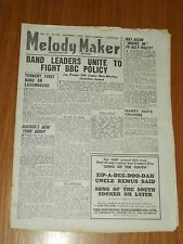 MELODY MAKER 1946 #698 DEC 7 JAZZ SWING LOU PREAGER NAT ALLEN HARRY ROY DJANGO