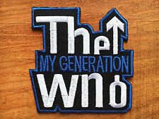 THE WHO RAF SCOOTER MOD JAM TARGET SEW/IRON ON PATCH 002