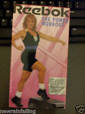 REEBOK - THE ORIGINAL STEP - THE POWER WORKOUT FITNESS VHS Video WW Shipping