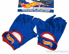 Hot Wheels Blue Bicycle Gloves / Youth Size XS, S & Med NEW!