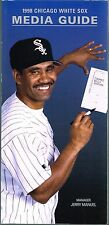 1998 Chicago White Sox Baseball MLB Media GUIDE