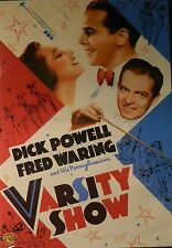 Busby Berkeley's VARSITY SHOW (1937) Dick Powell Ted Healy Fred Waring SEALED