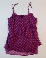 American Eagles Outfitters Polka Dots Spaghetti Strap Blouse Top Size S
