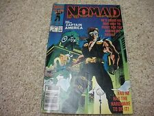NOMAD #1 and 5 (1990) Marvel Comics