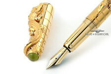 Cartier Crocodiles de Cartier Exceptional La Doña Maria Felix LE Fountain Pen