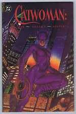 CATWOMAN HER SISTER'S KEEPER - Mindy Newell, J.J. Birch - 1991 - VG