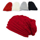 Women Men Winter Skull Knitted Crochet Baggy Beanie Hat Cap Beret Ski Beanie BGO