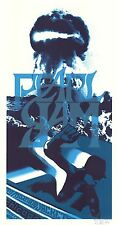MINT Pearl Jam Chicago 2006 Klausen SIGNED A/P Poster 51/100