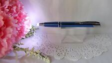 2 in 1 Marval Blue Lighted Tip Night Writer Ballpoint Pen  - HIGH QUALITY