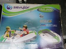 Sevylor HUI 200 2 Person Boat Double Lock Fast Valve Raft