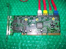 HP 4-Port SATA PCI-X Host Bus Adapter Hard Disk Controller con cavi