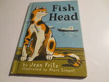 Fish Head by Jean Fritz illlustrated MArc Simont vintage 1972 Coward