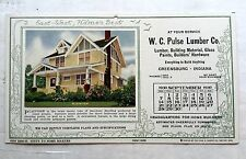September 1930 Hames Homes Advertising Calendar w/ New House Styles Plainview