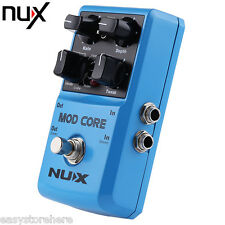 NUX Mod Core Multi Guitar Effect Pedal True Bypass with Housing 8 Modulation