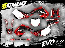 SCRUB Honda graphics decals CR 125 - 250 '97-'99 Stickers Motocross MX 1997-1999