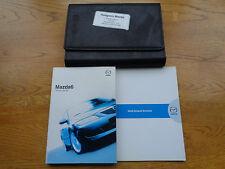 Mazda 6 Owners Handbook/Manual and Wallet 02-04