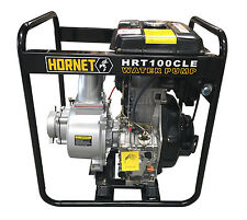 100MM WATER TRANSFER PUMP - 10HP DIESEL - ELECTRIC START *FREE DELIVERY*