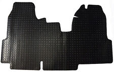 Ford Transit MK7 Van (2006-2013) Black 4.5mm Penny Rubber Floor Mats