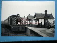 PHOTO  DUNNINGTON RAILWAY STATION 9/1/65 ON THE DERWENT VALLEY LIGHT RAILWAY SHO