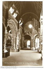 St Conan's Kirk, Loch Awe, Argyllshire, Scotland Real Photo Postcard #3 interior