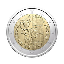 "Finland 2 Euro commemorative coin 2016 ""Henrik von Wright"" - UNC **NEW**"