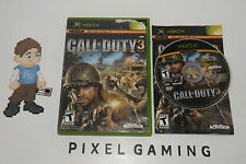 Call of Duty 3 - XBOX - Complete - FREE SHIPPING