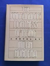 THE UNBEARABLE LIGHTNESS OF BEING - FIRST AMERICAN EDITION BY MILAN KUNDERA