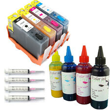 HP 934 935 Refillable Ink Cartridge Set with 400ml Dye for HP OfficeJet 6230